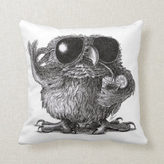 Cool Owl for Cool Persons Throw Pillow