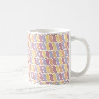 Cool Pastel Waves Coffee Mug