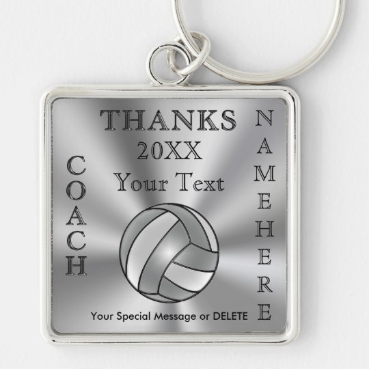 Cool Personalised Volleyball Coach Gift Ideas Key Ring