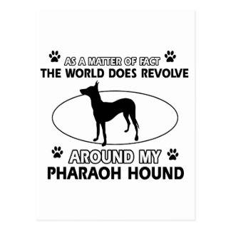 cool PHARAOH HOUND designs Postcard