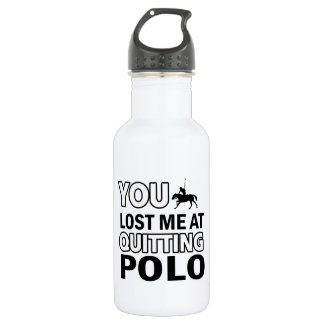 Cool polo designs 532 ml water bottle