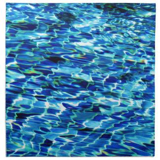 Cool pool water tiles HFPHOT24 Napkin