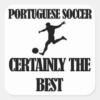 cool portuguese soccer designs square sticker