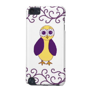 Cool Purple Owl iPod Touch (5th Generation) Covers