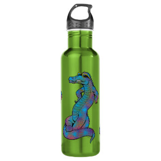 Cool Rainbow Gator 710 Ml Water Bottle