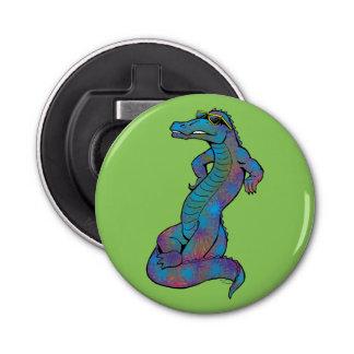 Cool Rainbow Gator Bottle Opener