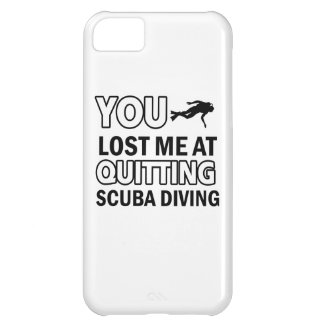 Cool scuba dive designs iPhone 5C case