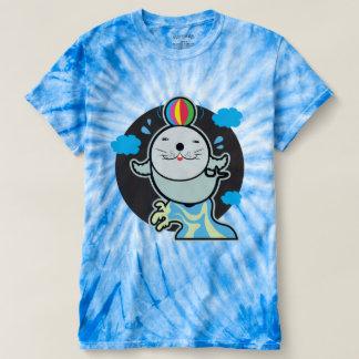 Cool seal on Men's Cyclone Tie-Dye T-Shirt