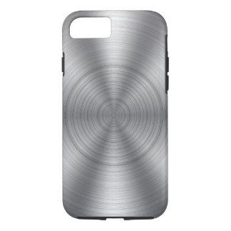 Cool Silver Metallic Look iPhone 7 Case