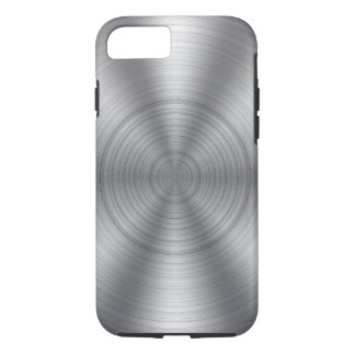 Cool Silver Metallic Look iPhone 8/7 Case