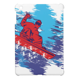 Cool Snowboarder iPad Mini Case