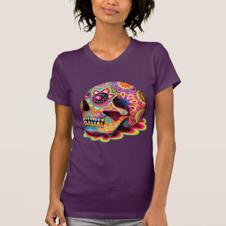 Cool Sugar Skull Shirt - Day of the Dead T-Shirt