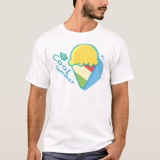 Cool Summer Ice-cream sweet heart fun color tee