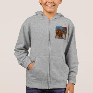 cool sweatshirt for guy cat