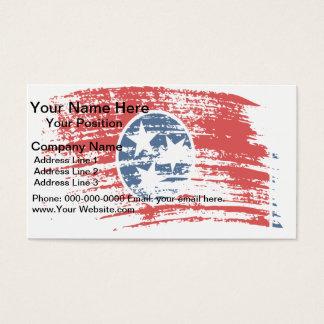 Cool Tennessean flag design Business Card