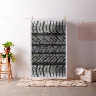 Cool Tire Rubber Automotive Texture Decor Fabric