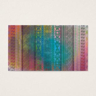 Cool trendy Aztec geometric pattern colourful