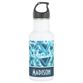 Cool Triangle; Blue 532 Ml Water Bottle