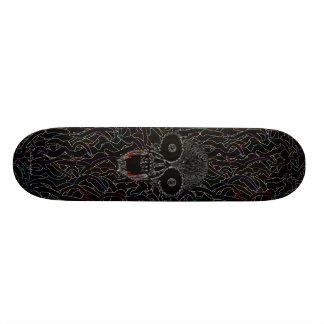 Cool tribal vampire skull graphic skateboard