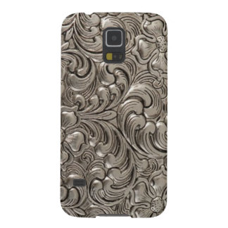 Cool unique metal pattern abstract galaxy s5 cover