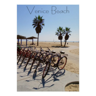 Cool Venice Beach Poster! Poster