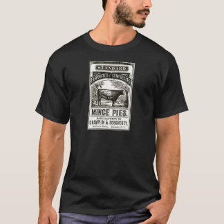 Cool Victorian Meat Pie Advert T-Shirt
