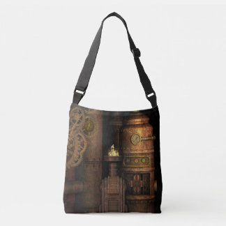 Cool Vintage Grungy Industrial Steampunk Crossbody Bag