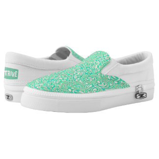 Cool Waters -2 Slip On Shoes Printed Shoes