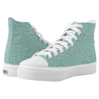 Cool Waters - high tops Printed Shoes