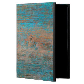 Cool Weathered Blue Peeling Paint Wood Texture Powis iPad Air 2 Case