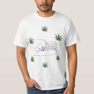 Cool weed tee