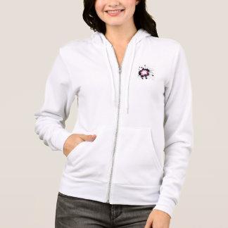 cool winter girl hoodie