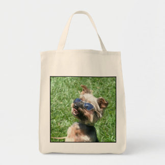 Cool Yorkshire Terrier Tote Bag