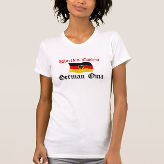 Coolest German Oma T Shirts