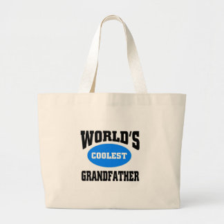 Coolest Grandfather Large Tote Bag