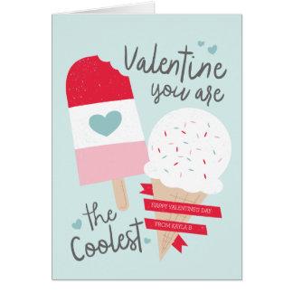 Coolest Valentine Greeting Card