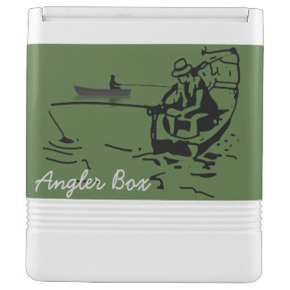 Cooling crate angler box chilly bin