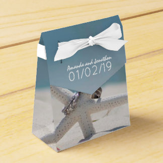 Coordinated Beach Wedding Theme Suite Thank You Favour Box