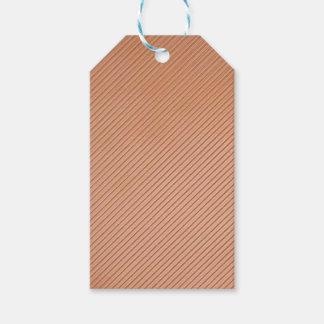 Copper-look stripes design