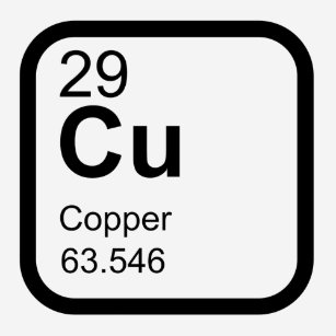 Periodic table copper gifts on zazzle nz copper periodic table science design t shirt urtaz Image collections