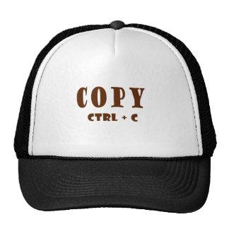 Copy Microsoft Word Content Trucker Hats