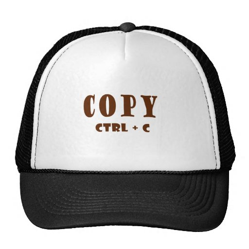 Copy Microsoft Word Content Trucker Hats