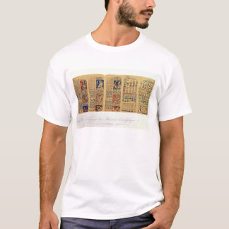 Copy of a fragment of the Dresden Codex T-Shirt