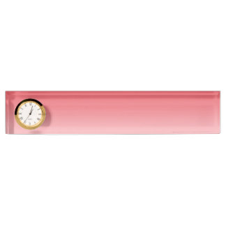 Coral Ombre Desk Name Plate