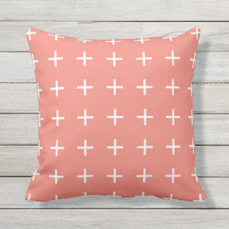 Coral Outdoor Pillows - Scandi Chic