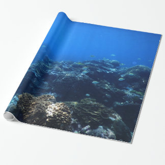 Coral Reef and Tropical Fish Wrapping Paper