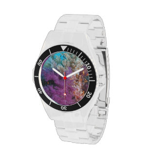 Coral Reef Habitat Wristwatches