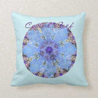 Coral Reef Manala Throw Pillow
