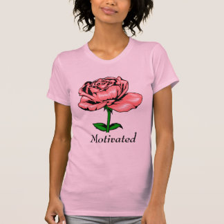 Coral Rose - Motivated T-Shirt