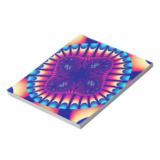 Coral Sea Flower Notepad